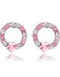 Elegant Alloy Women's Earrings (011037004)