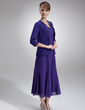 3/4-Length Sleeve Chiffon Special Occasion Wrap (013012555)