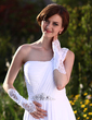 Satin Elbow Length Bridal Gloves (014013120)