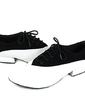 Men's Real Leather Nubuck Flats Modern Ballroom Dance Shoes (053013139)