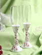Floral Theme Toasting Flutes (Set Of 2) (126033852)