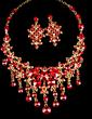 Exquisite Alloy/Rhinestones Ladies' Jewelry Sets (011029100)