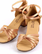 Kids' Satin Sandals Flats Latin With Ankle Strap Dance Shoes (053025578)