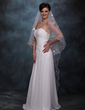 One-tier Waltz Bridal Veils With Scalloped Edge (006020358)