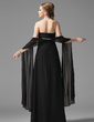 Empire Sweetheart Floor-Length Chiffon Chiffon Maternity Bridesmaid Dress With Ruffle Beading (045022486)