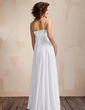 Empire Sweetheart Floor-Length Chiffon Wedding Dress With Ruffle (002011568)