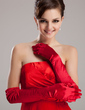 Elastic Satin Opera Length Party/Fashion Gloves/Bridal Gloves (014020468)