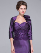 3/4-Length Sleeve Taffeta Special Occasion Wrap (013029228)