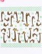 Lovely Giraffe Dinner Napkins (Set of 50 ) (122039519)