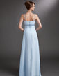 Empire Floor-Length Chiffon Chiffon Maternity Bridesmaid Dress With Ruffle (045004393)
