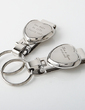 Personalized Heart design Zinc Alloy Keychains (Set of 4) (051028940)