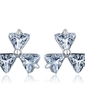 Unique Alloy With CZ Cubic Zirconia Women's Fashion Earrings (011036724)