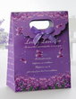 Floral Design Favor Bags With Ribbons (Set of 12) (050028841)