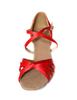 Satin Heels Sandals Latin Dance Shoes (053013151)