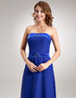 A-Line/Princess Sweetheart Floor-Length Chiffon Bridesmaid Dress With Beading (007001737)