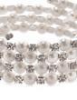 Strand Pearl With Rhinestone Ladies' Bracelets (011033405)