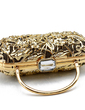 Gorgeous Metal With Rhinestone Clutches/Wristlets (012016239)