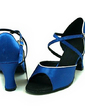 Women's Satin Sandals Latin Ballroom Dance Shoes (053013397)