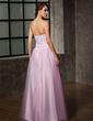 Balo Elbisesi Sweetheart Uzun Etekli Tül Mezuniyet Elbisesi (018005099)