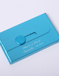 Personalized Concise Zinc Alloy Card Case (Set of 4) (051029037)