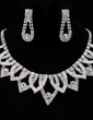 Shining Alloy/Rhinestones Ladies' Jewelry Sets (011019206)