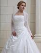 Long Sleeve Tulle Wedding Wrap (013022585)