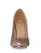 Women's Sparkling Glitter Stiletto Heel Closed Toe Pumps (047017513)