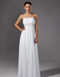 Empire Sweetheart Sweep Train Chiffon Evening Dress With Ruffle Beading Sequins (017004374)
