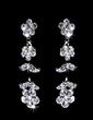 Flower Shaped Alloy/Rhinestones Women's Jewelry Sets (011028351)