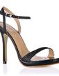 Women's Leatherette Stiletto Heel Sandals Slingbacks shoes (087017922)