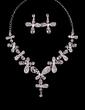 Beautiful Alloy/Rhinestones Ladies' Jewelry Sets (011029094)