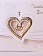 Heart Style Tri-Fold Invitation Cards (Set of 50) (114033291)