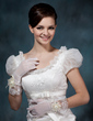 Voile Wrist Length Party/Fashion Gloves/Bridal Gloves (014020500)