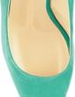 Suede Stiletto Heel Sandals Platform Peep Toe shoes (085026577)