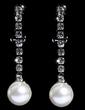 Elegant Alloy/Rhinestones With Pearl Ladies' Jewelry Sets (011028350)