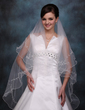 One-tier Waltz Bridal Veils With Scalloped Edge (006020353)