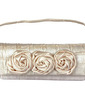 Fashional Silk With Flower Clutches (012028218)