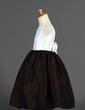 Linia A/Księżniczka Do Kostek Flower Girl Dress - Taffeta Bez Rękawów Dekolt łódka Z Kwiat(y) (010007328)