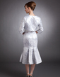 3/4-Length Sleeve Satin Special Occasion Wrap (013012476)