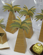 Coconut Tree Design Favor Boxes (Set of 12) (050013115)