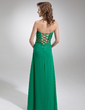 A-Line/Princess Sweetheart Floor-Length Chiffon Prom Dress With Ruffle Beading (018005351)