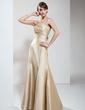Denizkızı Askısız Uzun Etekli Taffeta Nedime Elbisesi (007004270)