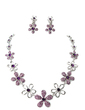 Flower Shaped Alloy/Rhinestones Ladies' Jewelry Sets (011017097)