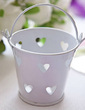 Heart Cut–outs Cylinder Favor Pails (Set of 12) (050023576)
