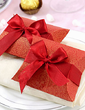 Classic Pillow Favor Boxes With Ribbons (Set of 12) (050028293)