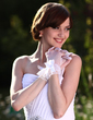 Voile Wrist Length Party/Fashion Gloves/Bridal Gloves (014005534)