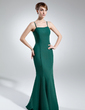 Trumpet/Mermaid Sweetheart Floor-Length Chiffon Mother of the Bride Dress (008005655)