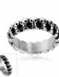Nice Titanium Steel Unisex Fashion Rings (137055601)