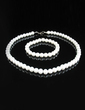 Elegant Pearl Women's Jewelry Sets (011028979)