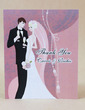 Personalized Bride And Groom Hard Card Paper Thank You Cards (Set of 50) (118029367)